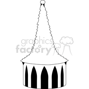 Castle Structure 02 clipart. Royalty-free image # 388609