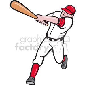 baseball batter clipart. Royalty-free image # 388619