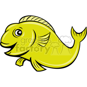 cartoon koi fish clipart. Commercial use image # 388659