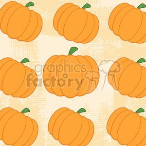 6650 Royalty Free Clip Art Pumpkin Background Seamless Pattern clipart. Royalty-free image # 389718