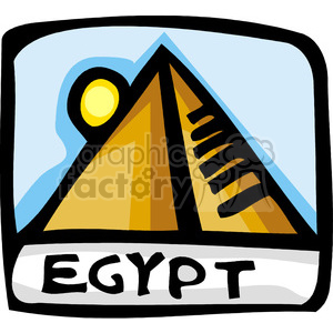 Egypt clipart. Royalty-free image # 148586