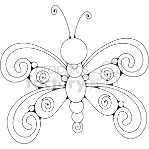 Butterfly 02 clipart. Commercial use image # 391620