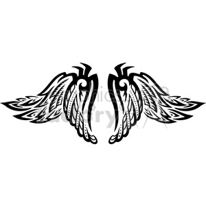 vector wings clipart. Commercial use image # 392771