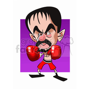 manny pacquiao cartoon character clipart. Commercial use image # 393288