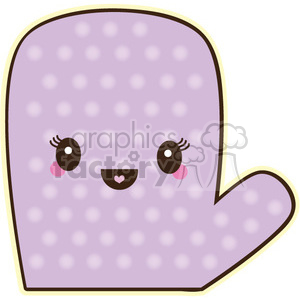 oven mitt character clipart. Royalty-free image # 393452