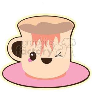 tea cup clipart. Royalty-free image # 393462