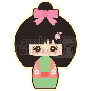 Geisha clipart. Commercial use image # 393512