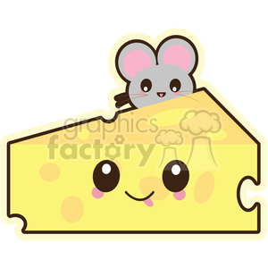 Cheese vector clip art image clipart. Commercial use image # 393787
