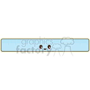 cartoon character characters funny cute ruler measure