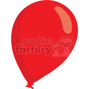 valentines red ballon clipart. Commercial use image # 393817