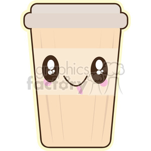 Coffee Cartoon cartoon character illustration clipart. Royalty-free icon # 394143