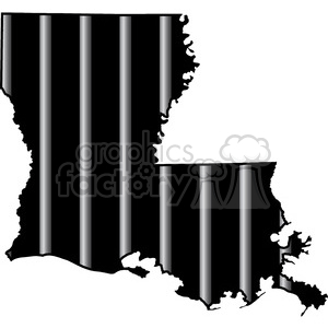 prison louisiana jail bars tattoo design clipart. Royalty-free image # 394800