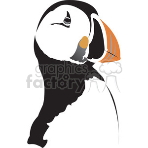 Puffin bird clipart. Commercial use image # 395003