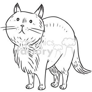 chubbie kitty clipart. Royalty-free image # 397087
