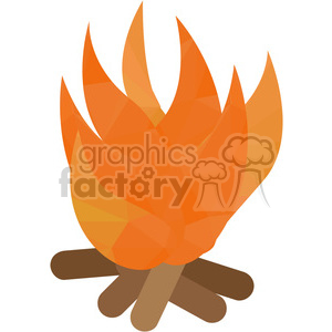 Fire geometry geometric polygon vector graphics RF clip art images clipart. Royalty-free image # 397331