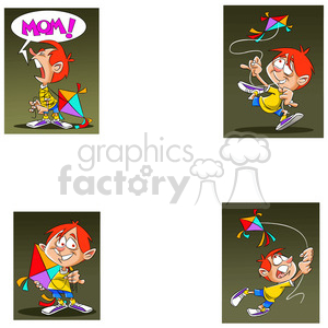 josh the cartoon character clip art image set clipart. Royalty-free image # 397511