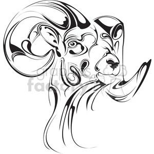 designer ram clipart. Commercial use icon # 398019