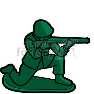 toy military soldier illustration graphic clipart. Royalty-free image # 398069