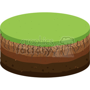grass sliced clipart. Commercial use image # 398808