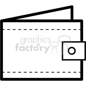 wallet vector icon clipart. Royalty-free icon # 398830