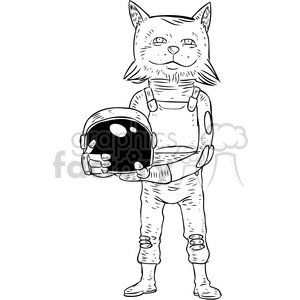 astro fox vector illustration clipart. Royalty-free image # 398870