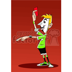 vector clipart image of anonymous referee clipart. Royalty-free image # 400344