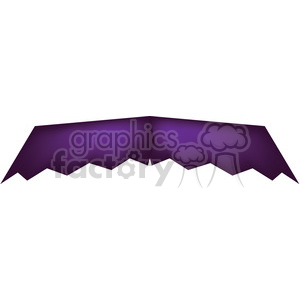 purple mustache 5 clipart. Royalty-free image # 400492