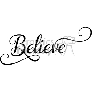 believe typography svg eps clip art clipart. Commercial use image # 400616