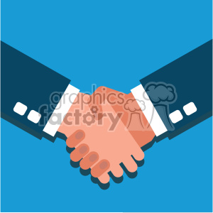 hand people hands flat+design partner agreement handshake business blue