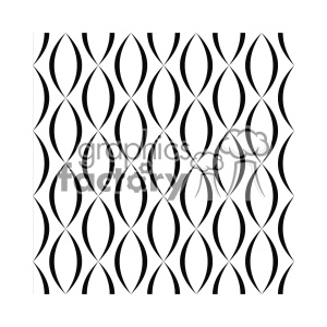 vector shape pattern design 781 clipart. Royalty-free image # 401633