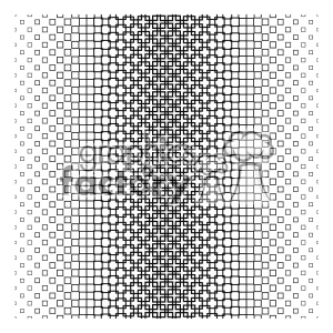 vector shape pattern design 672 clipart. Royalty-free image # 401668