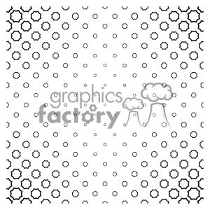 vector shape pattern design 738 clipart. Royalty-free image # 401703