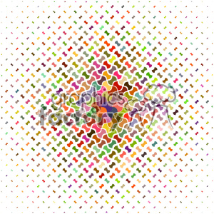 vector color pattern design 116 clipart. Royalty-free image # 401753