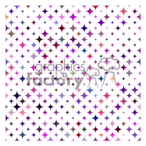 vector color pattern design 053 clipart. Royalty-free image # 401768