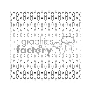 vector shape pattern design 743 clipart. Royalty-free image # 401803