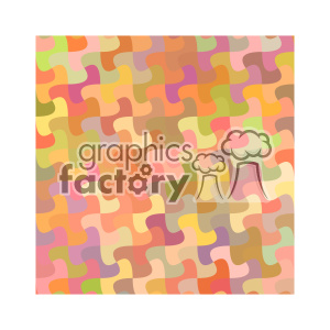 vector color pattern design 121 clipart. Royalty-free image # 401823
