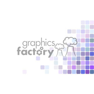vector business card template shades of purple digital corner text design clipart. Royalty-free image # 401938