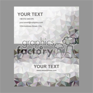 vector business card template set 016