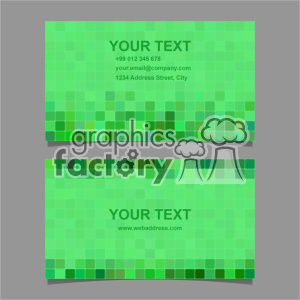 vector business card template set 055 clipart. Royalty-free image # 401993