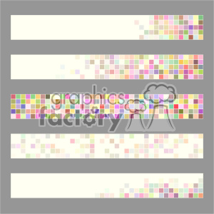 vector header banner template 001 clipart. Royalty-free image # 402088