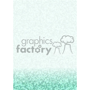 green gradient pixel pattern vector bottom background template clipart. Royalty-free image # 402148