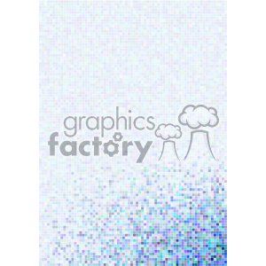 shades of gradient blue pixel vector brochure letterhead document background corner template clipart. Royalty-free image # 402163