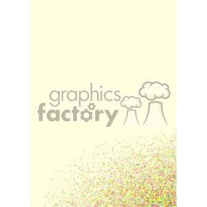 shades of yellow geometric vector brochure letterhead bottom corner background template clipart. Royalty-free image # 402173