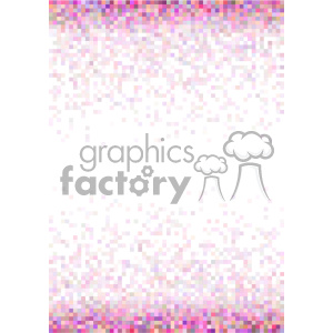 pink pixel pattern vector top bottom background template clipart. Royalty-free image # 402178