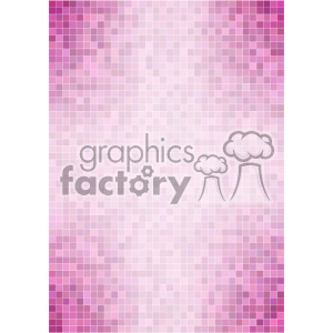 pink purple pixel pattern vector background template clipart. Commercial use image # 402188