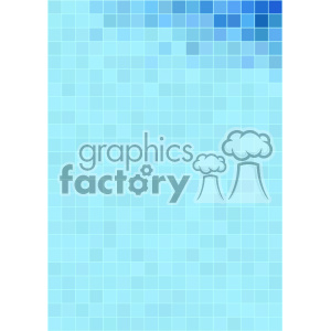 blue pixel pattern vector top corner background template clipart. Commercial use image # 402193