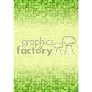 green ditigal pixel pattern vector top bottom background template clipart. Royalty-free image # 402203