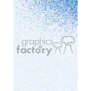 shades of gradient blue pixel vector brochure letterhead document background top template clipart. Royalty-free image # 402223