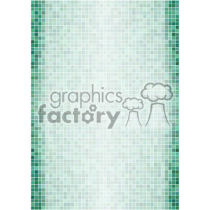 aqua ditigal pixel pattern vector background template clipart. Royalty-free image # 402228
