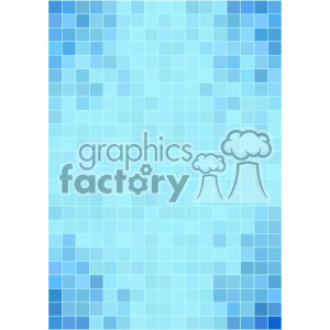 blue pixel pattern vector background template